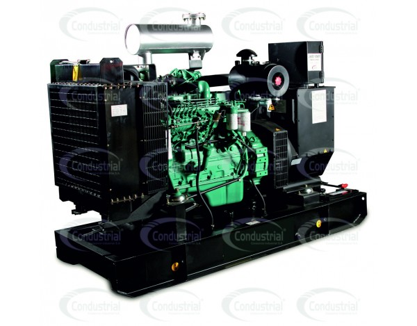 Plantas electricas industriales ECOPOWER, trifasicas, 1800rpm, diesel, de 33-500kva (26-500kw) standby, FP0.8