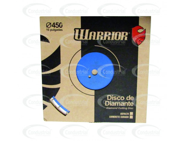 DISCO LASER DE CORTE PARA CONCRETO WARRIOR 26-404