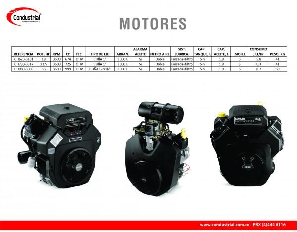 MOTOR A GASOLINA  - KOHLER - CH730-3317