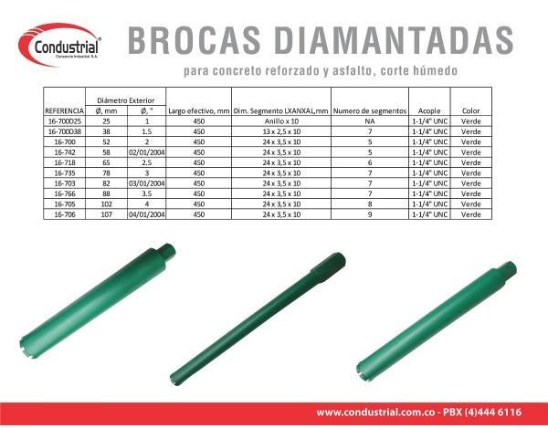 BROCA WARRIOR 16-700D25