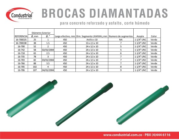 BROCA WARRIOR 16-700